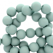 6 mm acrylic beads Light Pagoda Blue