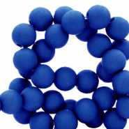 4 mm acrylic beads Royal Blue