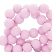 6 mm acrylic beads Lavender Pink