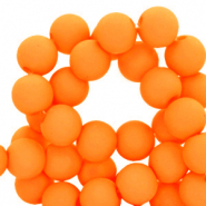 6 mm acrylic beads Orange Peel