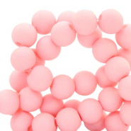 6 mm acrylic beads Seashell Pink