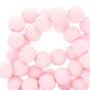 6 mm acrylic beads Light Pink