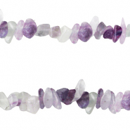 Chips stone beads Crystal turquoise purple opal