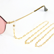 Sunglasses cords Stainless Steel Gold