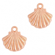 DQ European metal charms shell Rose Gold (nickel free)