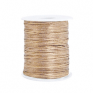 Satin wire 1.5mm Champagne