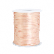 Satin wire 1.5mm Peachy Rose