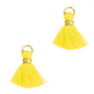 Tassels 1cm Gold-Freesia Yellow