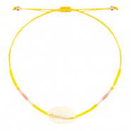 Anklets / Ankle bracelets Cowrie Miyuki Sunflower Yellow