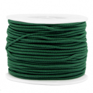 Coloured elastic cord 2mm Eden Green