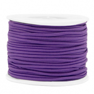 Coloured elastic cord 2mm Purple