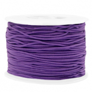 Coloured elastic cord 1.5mm Purple