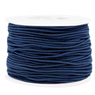 Coloured elastic cord 1.5mm Dark Blue