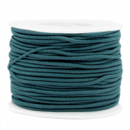 Coloured elastic cord 2mm Mosaic Blue