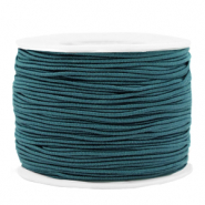 Coloured elastic cord 1.2mm Mosaic Blue
