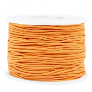 Coloured elastic cord 1.5mm Paradise Orange