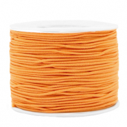 Coloured elastic cord 1.2mm Paradise Orange