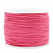 Coloured elastic cord 1.2mm Azalea Pink