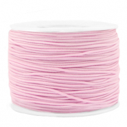 Coloured elastic cord 1.2mm Pink