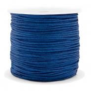 Macramé bead cord 1.5mm benefit package Dark Blue