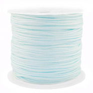 Macramé bead cord 1.5mm benefit package Light Blue