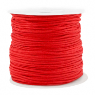Macramé bead cord 1.5mm benefit package Red