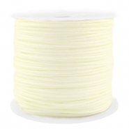Macramé bead cord 1.5mm benefit package Creamy White