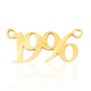 Stainless steel charms/connector year 1996 Gold