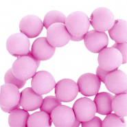 6 mm acrylic beads Orchid Purple