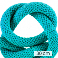 Maritime cord 10mm (3x30cm) Ceramic Blue