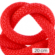 Maritime cord 10mm (4x20cm) Fiery Red