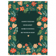 "Jewellery cards ""Always together"" Multicolour-Green"