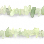 Chips stone beads Crysolite Green