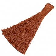 Tassels 8cm Rust Brown