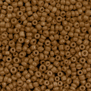 Glass seed beads 12/0 (2mm) Sierra Brown