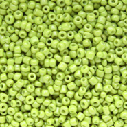 Glass seed beads 12/0 (2mm) Lime Green