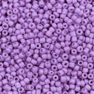 Glass seed beads 12/0 (2mm) Deep Lavender Purple