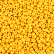 Glass seed beads 12/0 (2mm) Freesia Yellow