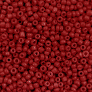 Glass seed beads 12/0 (2mm) Cabernet Red