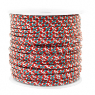 Maritime cord 2mm Red-Blue