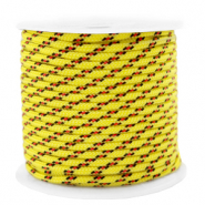 Maritime cord 2mm Yellow-Red