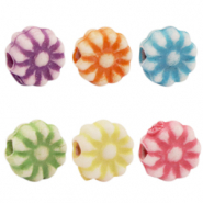 Acrylic beads summer Multicolour