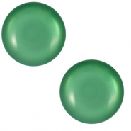 12 mm classic Polaris Elements cabochon Shiny Alhambra Green