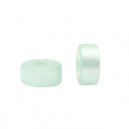Polaris beads disc 6mm Clearwater Blue