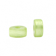 Polaris beads disc 6mm Bright Lime Green