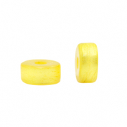 Polaris beads disc 4mm Canary Yellow