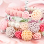 NEW Back in stock: New rose beads