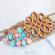 NEW New: ceramic beads & wooden charms