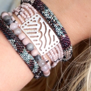 NEW New: Trendy stitched cord in Bohemian style