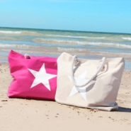 NEW New: summer beach bags and patches
